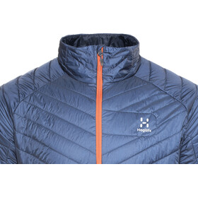 Haglöfs L.I.M Barrier Jacket Men Tarn Blue/Cayenne